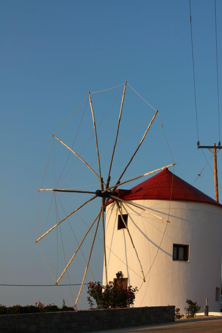 Windmill in Sigri-Lesbos