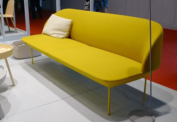 Salone del Mobile 2013: Oslo sofa by Anderssen & Voll for Muuto