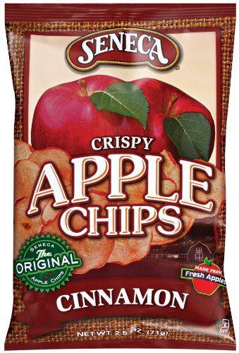 Seneca Cinnamon Apple Chips,2.5-Ounce Bags (Pack of 12)