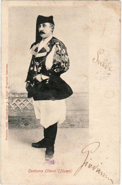 Oliena-Costume