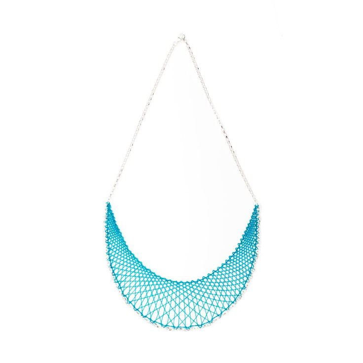 Alma in silver via Inlace Jewelry. Click on the image to see more!
