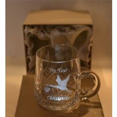 Crystal Christening Mug - Crystaleire  €35.00