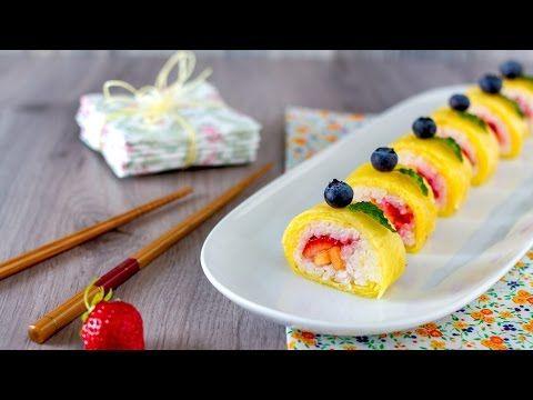 Click to Watch > Sushi di frutta / frushi - Beauty Club Expo 2015 edition in HD