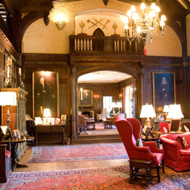 10 Living Rooms We Love: Salvatore House From Vampire Diaries
