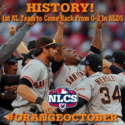 Congratulations to the GIANTS on their history-making win today!!