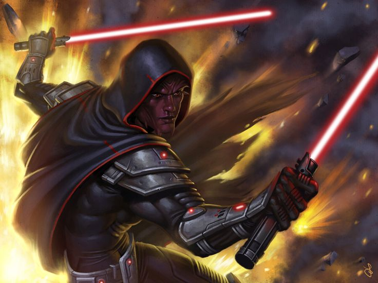So this is what the Sith race looks like. They were much worse than ur average Sith Lord. They are mistaken commonly with a Zabrak, which is Darth Maul's race.