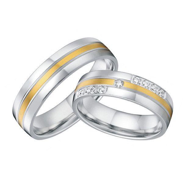 Aliexpress.com: Compre Clássico personalizado handmade ocidental titânio casais promessa anéis de casamento banda de noivado dele e dela conjuntos para homens e mulheres de confiança molde do anel fornecedores em Wedding Rings Master