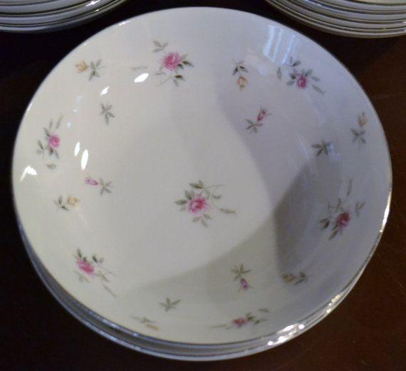 Nine Vintage Harmony House Bowls Lorraine Pattern by PanchosPorch, $27.00