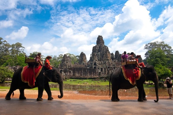 Siem Reap, Cambodia  What You Should Do While There: Observe the sunrise at Angkor Wat. It's said to be one of the best in the world. Also be sure to check out the Tomb Raider Temple which was left intact — crumbling walls and all — to show tourists how the others were found. If you're feeling adventurous, sign up for an ATV tour which allows you to watch the sunset. Just hold on tight.