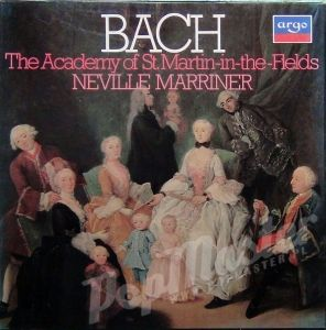 BACH The Academy of St. Martin-in-the Fields Neville Marriner 3LP Box D241D3 muzyka klasyczna classical music