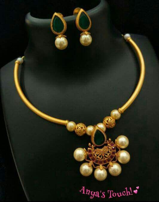 Gold, pearls, rubies and emeralds ~