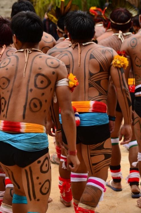 índios Kuikuros