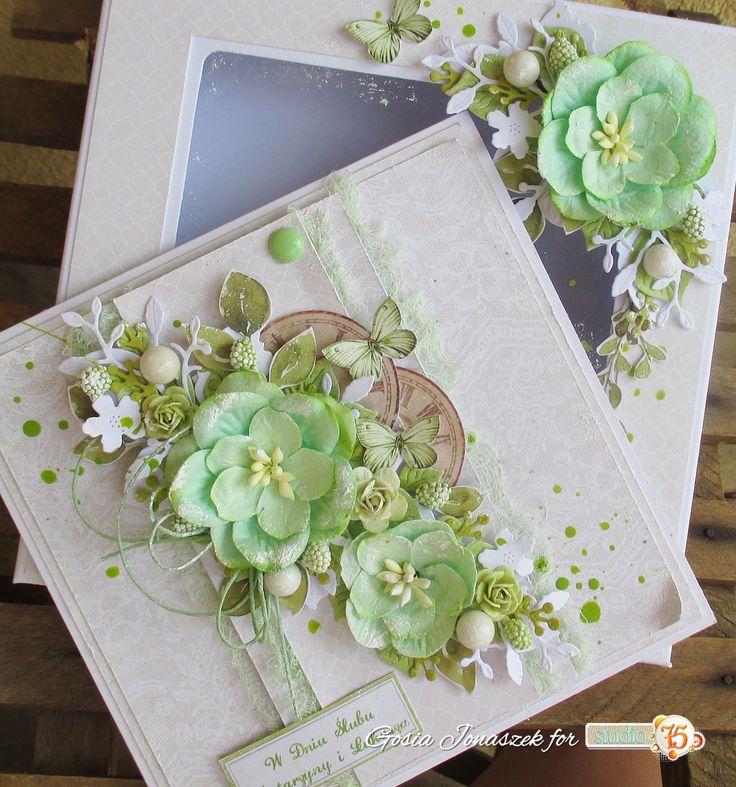 Цветок для открытки скрапбукинг, надписью умираю