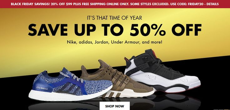 Champs Sports - Exclusive Black Friday Deal! 20% off $99 + Free Shipping November http://www.offers.hub4deals.com/store-coupons?s=Champs-Sports