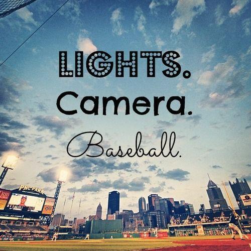 Lights. Camera. Baseball