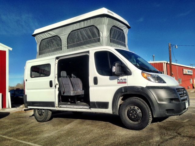 Dodge Conversion Van >> My Ram Promaster 136'' Low Roof POP TOP - Ram Promaster Forum | CAMPERVAN | Pinterest | Van ...