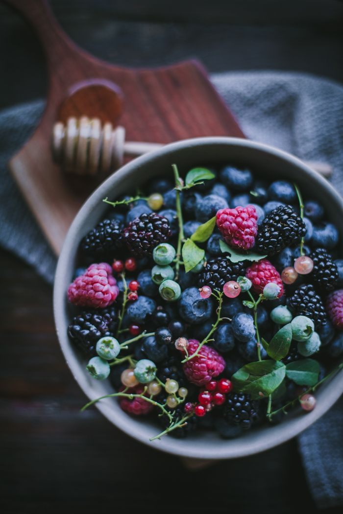 Plum & Summer Berry Lavender Crisp by Eva Kosmas Flores