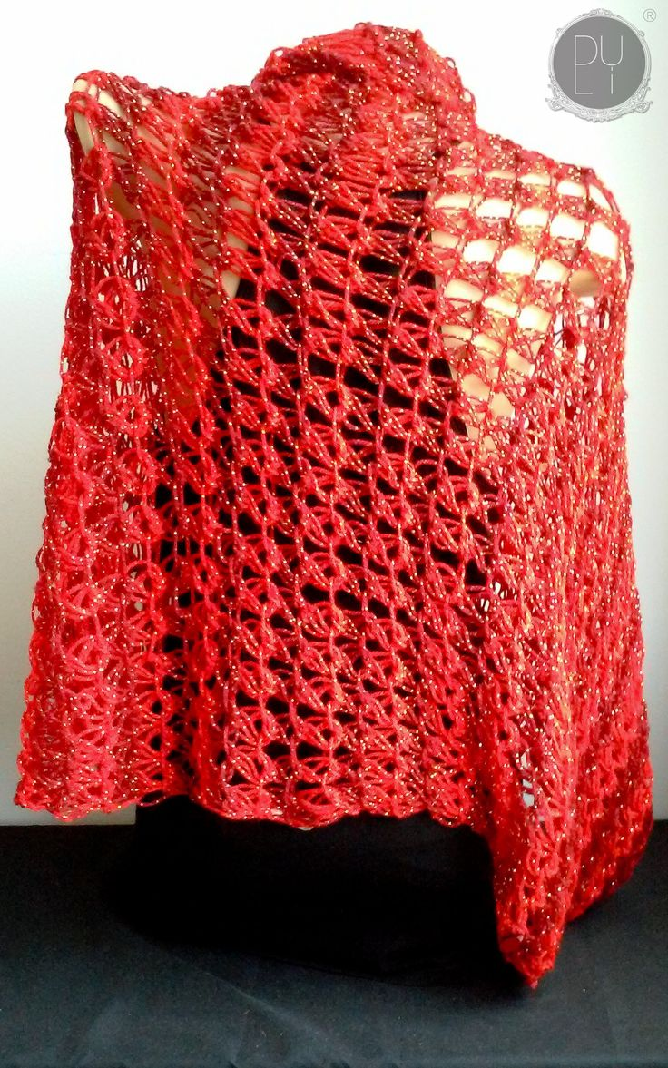 New in our shop! Red Cocoon/Shrug 2   Chal/Chaleco Rojo 2 https://www.etsy.com/listing/525276740/red-cocoonshrug-2-chalchaleco-rojo-2?utm_campaign=crowdfire&utm_content=crowdfire&utm_medium=social&utm_source=pinterest