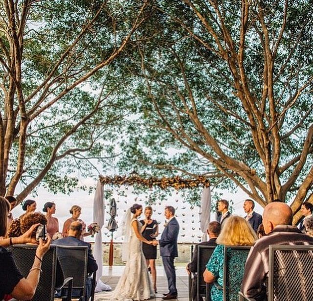 Under the trees #weddings #sirromet #sirrometwines
