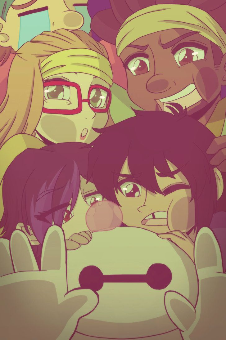 .:Big Hero 6:. by Dawnrie on deviantART  hahahaha, what the heck are they doing? XD