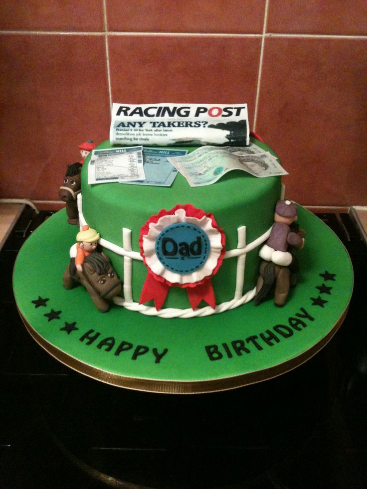 17 Best images about Horse racing cake on Pinterest ...