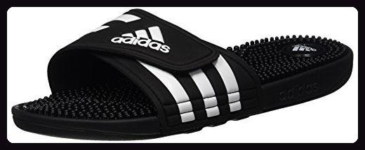 adidas Damen Adissage Badeschuhe, Schwarz (Black/Black/Running White Footwear), 42 EU - Sportschuhe für frauen (*Partner-Link)