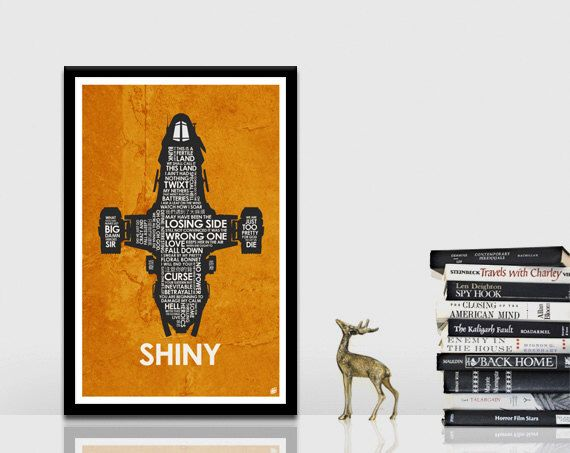 Firefly - Serenity Quote Poster by OutNerdMe on Etsy https://www.etsy.com/listing/118173712/firefly-serenity-quote-poster