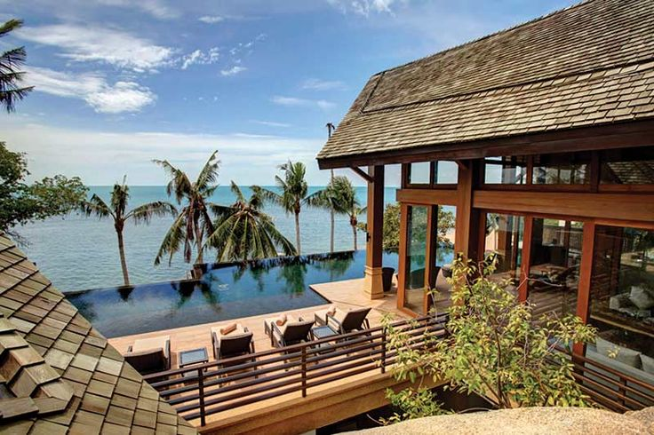 Baan Hinta : Lamai : Koh Samui Villas   Thailand Villas Luxury Villa To  Rent.