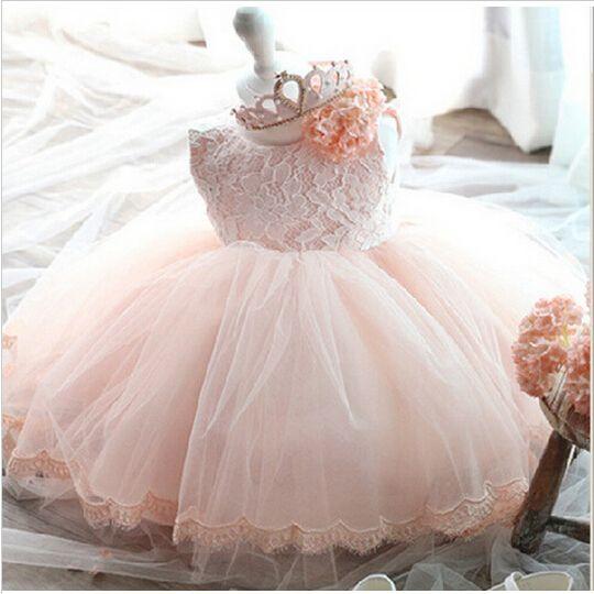 Высокое качество платье ребенка крещение платье для 1 год рождения платье для девочки Chirstening платье для младенца купить на AliExpress
