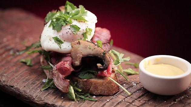 MKR4 Recipe - Bacon and Egg Roll (Bondi Style)