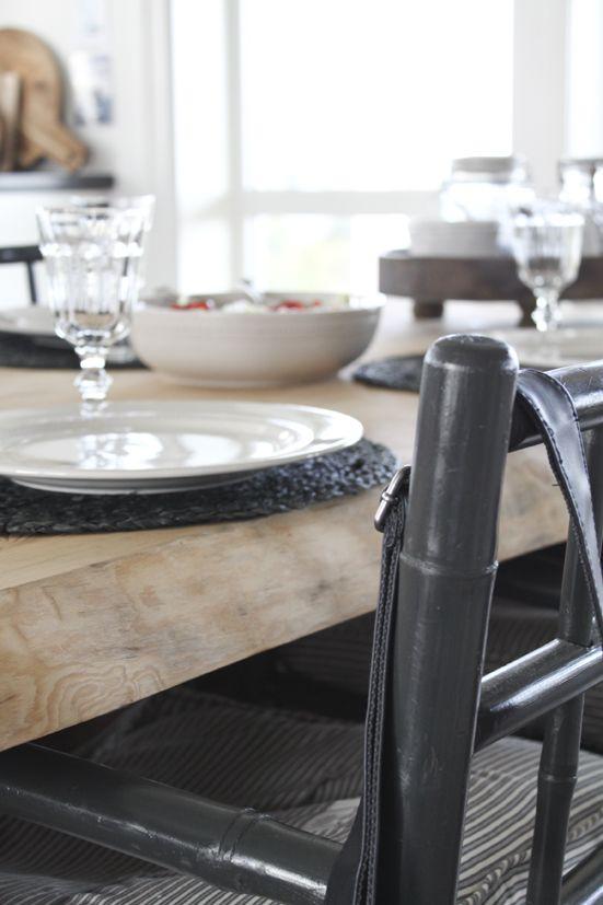 kjøkkenbord, villmark, tinekhome