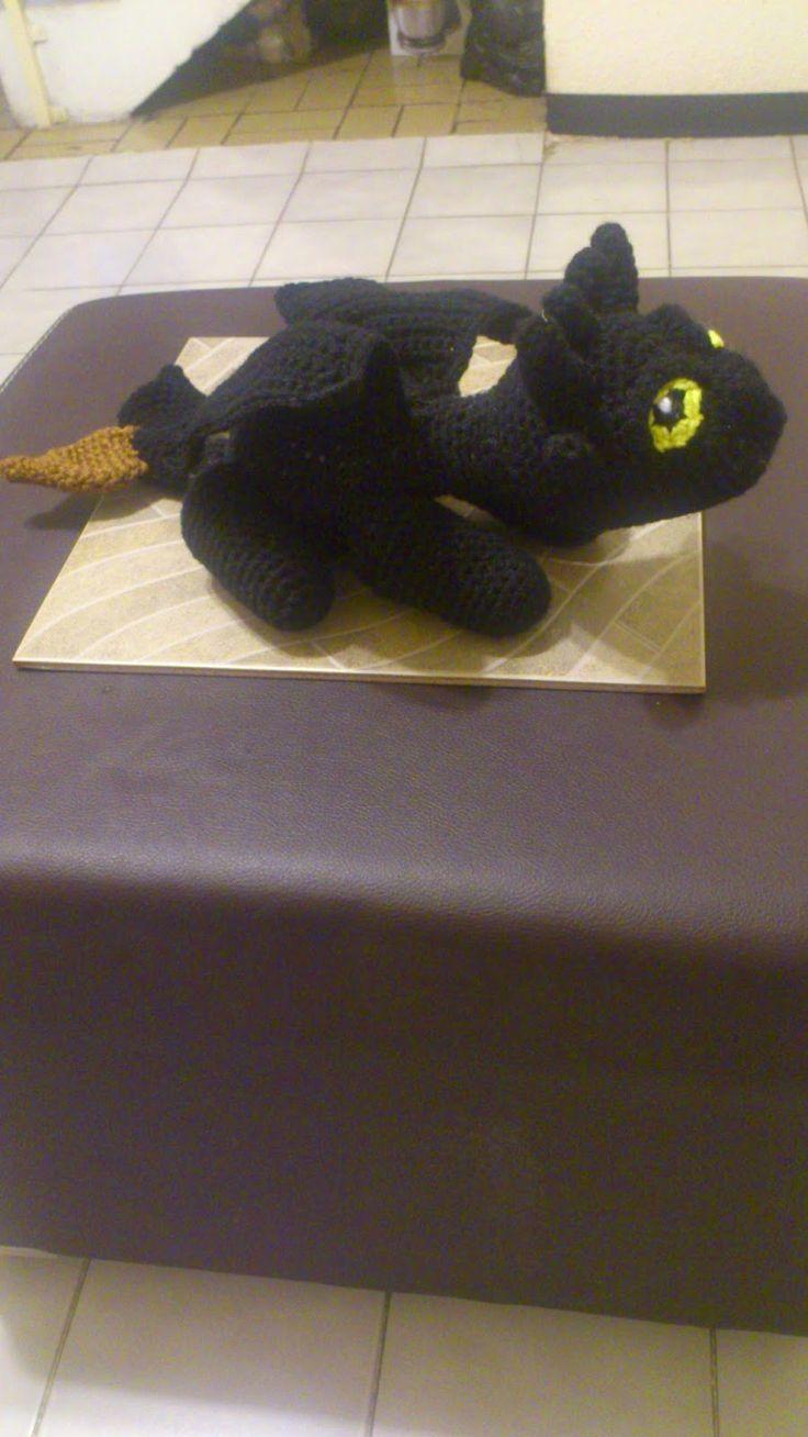 80 besten Crochet Dragons & Lizards Bilder auf Pinterest   Drachen ...