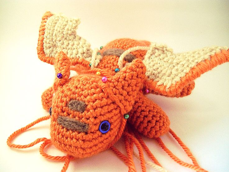 Amigurumi Dragonfly : Amigurumi dragon and copper on pinterest