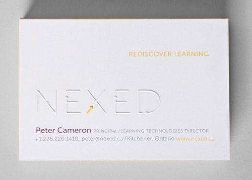 NEXED Business Card