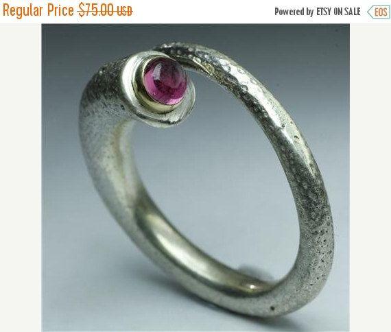 IN vendita 15% di sconto elegante argento e tormaline rosa anello - tribali gioielli - gioielli etnici - gemma gioielli - gioielli nativi americani - Ind