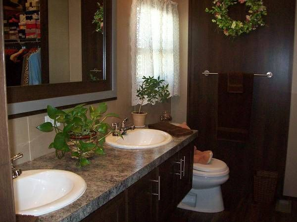Best Mobile Homes Images On Pinterest Mobile Homes Mobile - Bathroom ideas for mobile homes for bathroom decor ideas