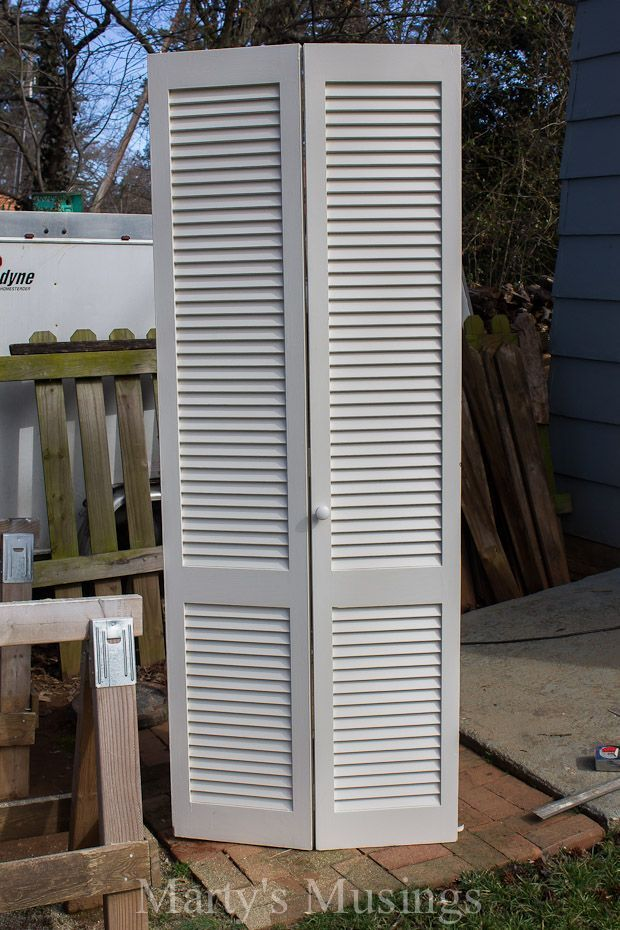 What Can You Make With an Old Closet Door? See What This DIYer Made!