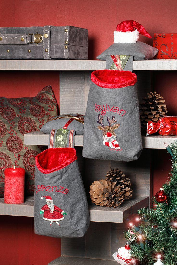 De vernieuwde Kerstsok. Ontworpen voor Stitch at Home Editie 47 najaar 2014