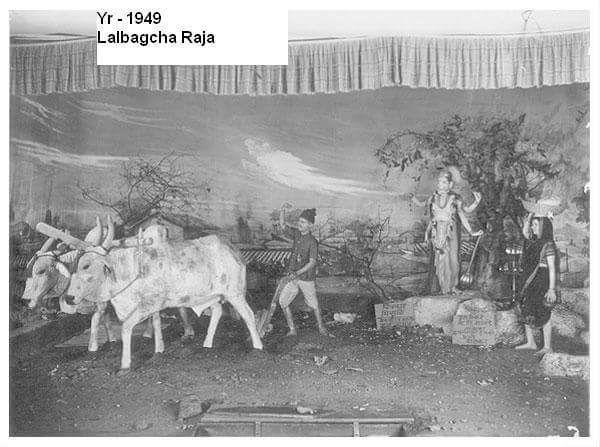 Lalbaugcha Ganesh Image 1949