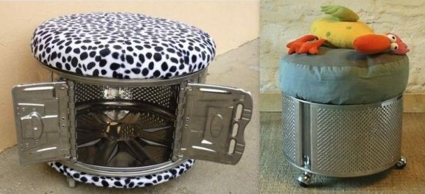 17 best images about recyclage tambour lave linge on pinterest machine a fire pits and. Black Bedroom Furniture Sets. Home Design Ideas