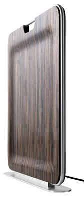 Radiateur Bag / infrarouge et mobile Ebène - I-Radium - Décoration et mobilier design avec Made in Design