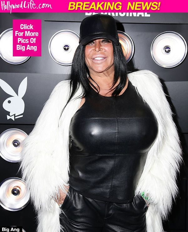 """RIP Big Ang I loved u so much I know your family and friends will miss you so much my thoughts and prayers are with them all You were the best my Sister I know you're with the Angels now in a better place """"I hope you dance """" gone far too soon  Dance my friend ox"""