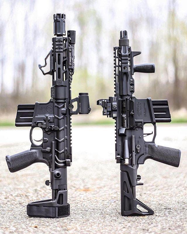 Left or right?! #sbr #firearms #tactical       : @ar15news | Guns