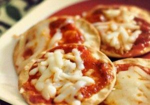 Mini pizza avec pate feuilletée - Recette de cuisine