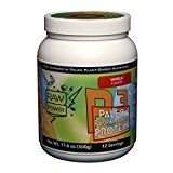 Organic Gluten-Free Vegan Plant-Based Pumpkin Seed Protein Powder Makes Ideal Shake Raw Power Paleo Superfood 12 Servings Vanilla Flavor  17.6 oz Reviews