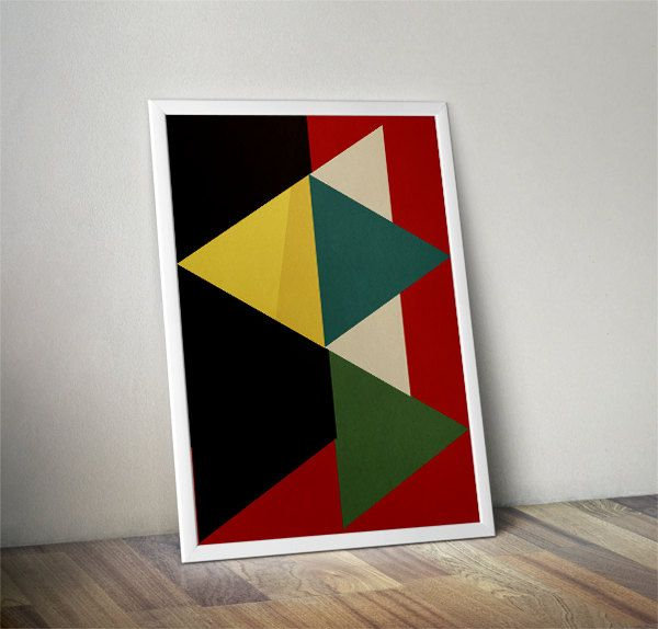 35.00$ - Abstract print poster, mid century print poster, retro print poster, geometric print poster, poster, posters  #3d #design #symbol #sign #graphic #icon #business #paper #triangle #black #art #shape #box #arrow #clipart #card #computer #block #object #clip #web #message #color #pattern #letter #board #technology #office #icons #house #digital #information #home #education #colour #empty #finance #diagram