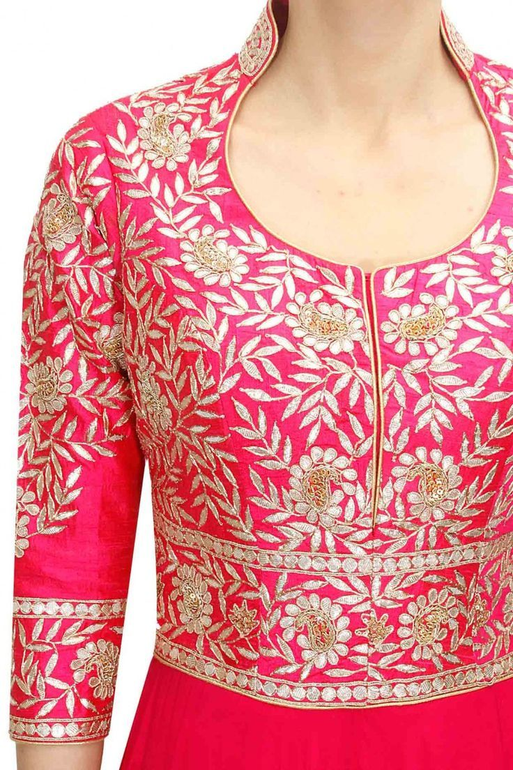 Embroidered Fancy Gala Neckline Designs (4)
