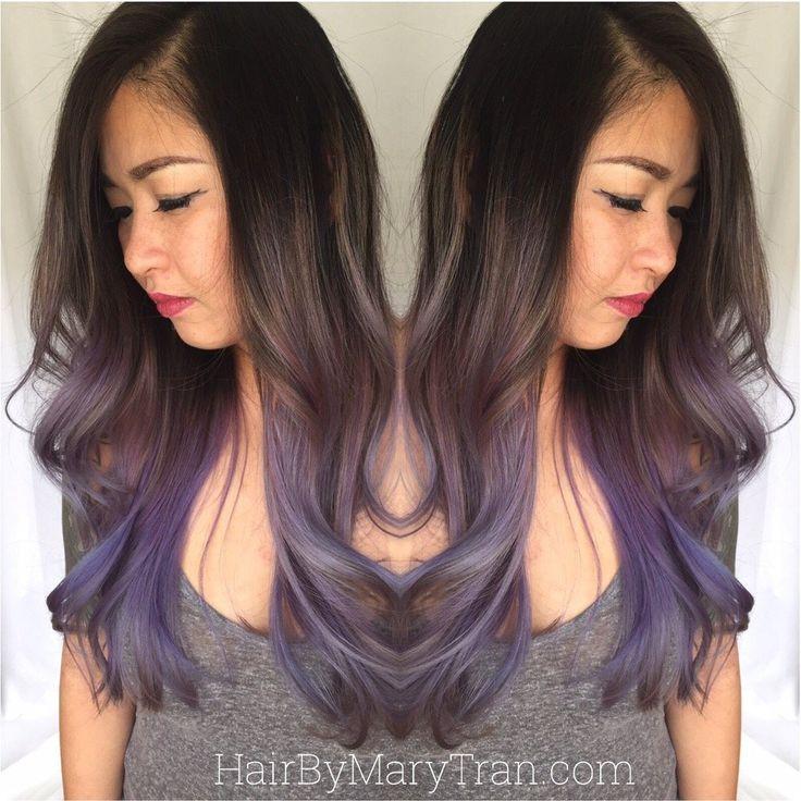 Hair color ideas for black hair asian