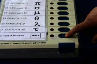 """Over 17 lakh voters in the five states where assembly elections were held opted for """"None of the Above"""" (NOTA) choice, according to the Election Commission. According to the results in the poll panel's website, the highest number of 831,845 voters opted for NOTA in West Bengal. This was followed by Tamil Nadu (561,244), Assam (189,080), Kerala (107,239) and Puducherry...  Read More"""
