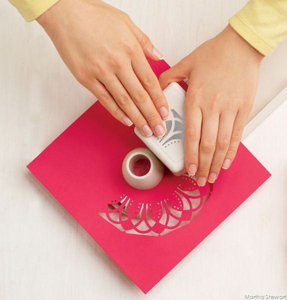 1000 images about martha stewart punches on pinterest for Pre punched paper for crafts